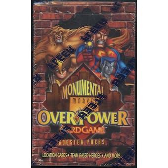 Marvel Over Power Monumental Booster Box (Fleer) (1996)