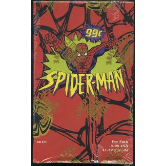 Spiderman Hobby Box (1997 Fleer Skybox)