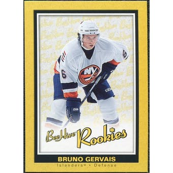 2005/06 Upper Deck Beehive Rookie #158 Bruno Gervais RC