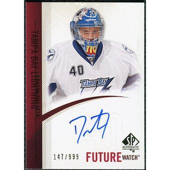 2010/11 Upper Deck SP Authentic #251 Dustin Tokarski RC Autograph /999