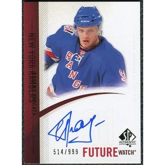 2010/11 Upper Deck SP Authentic #263 Evgeny Grachev RC Autograph /999
