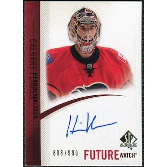 2010/11 Upper Deck SP Authentic #299 Henrik Karlsson RC Autograph /999