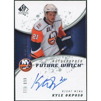 2008/09 Upper Deck SP Authentic #200 Kyle Okposo RC Autograph /999