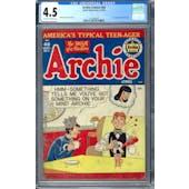 Archie Comics #40 CGC 4.5 (OW-W) *1271045023*