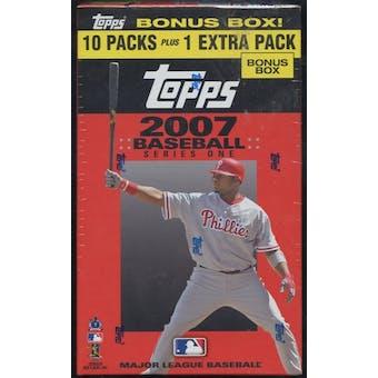 2007 Topps Series 1 Baseball Blaster Box