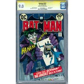 Batman #251 CGC 9.0 (OW-W) Signature Series Neal Adams *1273729002*