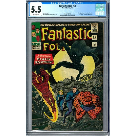Fantastic Four #52 CGC 5.5 (OW) *1276505018*