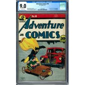 Adventure Comics #58 CGC 9.0 (OW) *1279155001*