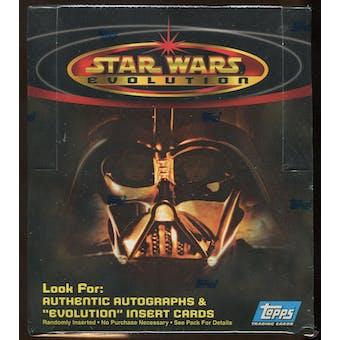 Star Wars Evolution Hobby Box (2001 Topps)