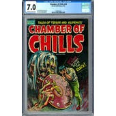 Chamber of Chills #20 CGC 7.0 (OW-W) *1282804002*
