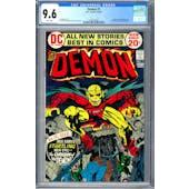 Demon #1 CGC 9.6 (W) *1284155005*
