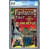 Fantastic Four #48 CGC 8.0 (OW-W) *1284716001*