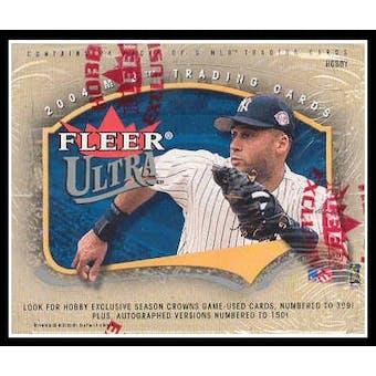2004 Fleer Ultra Baseball Hobby Box