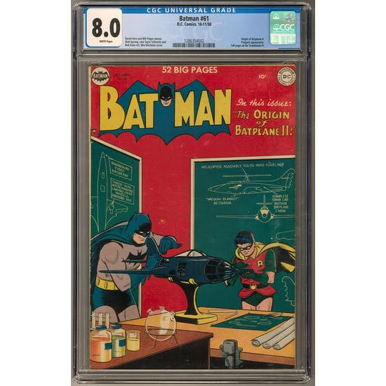 Batman #61 CGC 8.0 (W) *1286354002*