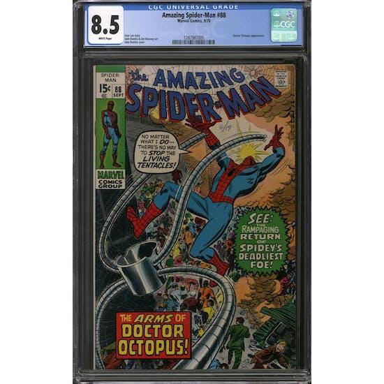 Amazing Spider-Man #88 CGC 8.5 (W) *1287987005*