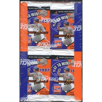 1997 Score Pinnacle XPress Baseball 36-Pack Box