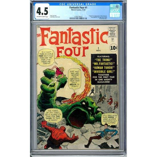 Fantastic Four #1 CGC 4.5 (OW-W) *1289278003*