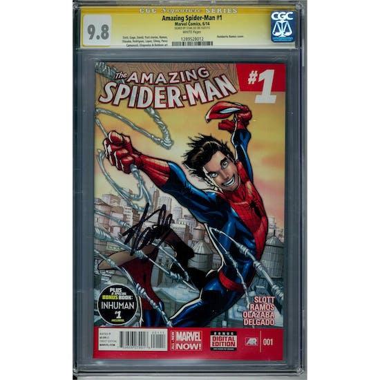 Amazing Spider-Man #1 CGC 9.8 Stan Lee Siganture Series (W) *1289528012*