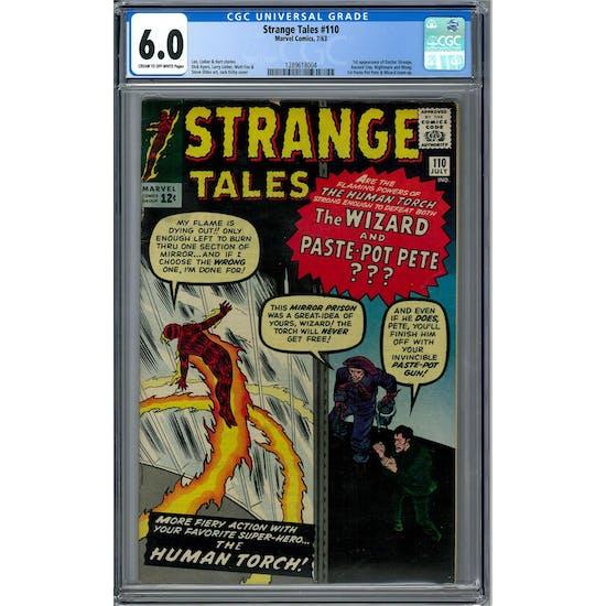 Strange Tales #110 CGC 6.0 (C-OW) *1289618004*