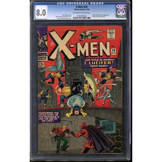 X-Men #20 CGC 8.0 (OW-W) *1290390002*