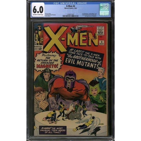 X-Men #4 CGC 6.0 (OW-W) *1290811001*