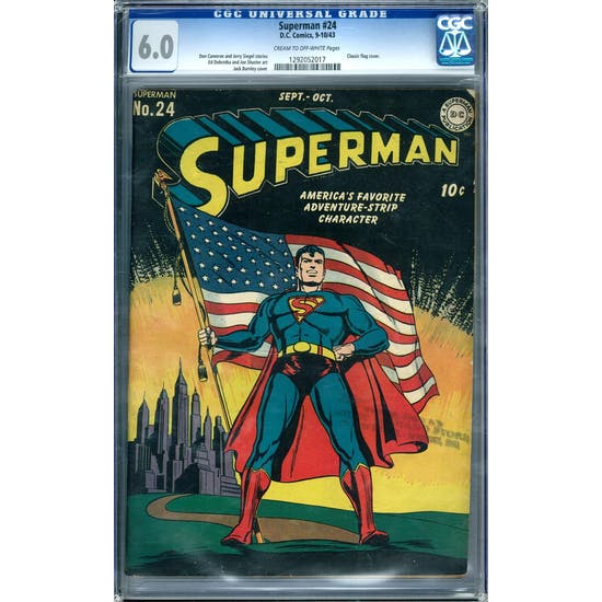 Superman #24 CGC 6.0 (C-OW) *1292052017