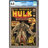 Incredible Hulk #1 CGC 4.0 (C-OW) *1294405001*