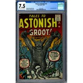 Tales to Astonish #13 CGC 7.5 (C-OW) *1295342005*
