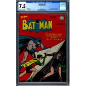 Batman #42 CGC 7.5 (C-OW) *1295747004*