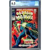 Marvel Super-Heroes #13 CGC 6.5 (OW-W) *1296190003*