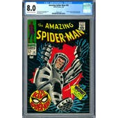 Amazing Spider-Man #58 CGC 8.0 (OW-W) *1296651023*