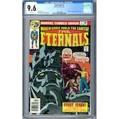 Eternals #1 CGC 9.6 (W) *1297343008*