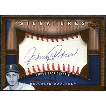 2005 Upper Deck Sweet Spot Classic Signatures #PO Johnny Podres T3 Autograph