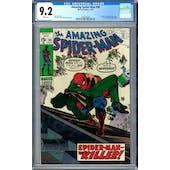 Amazing Spider-Man #90 CGC 9.2 (W) *1298335004*