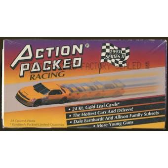 1993 Pinnacle Action Packed Series 2 Racing Hobby Box