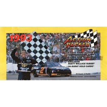 1993 Pinnacle Action Packed Series 3 Racing Hobby Box