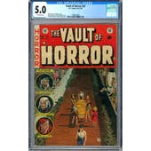 Vault of Horror #33 CGC 5.0 (OW) *1299873006*