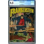 Frankenstein #20 CGC 4.5 (OW-W) *1299873012*