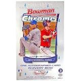 2012 Bowman Chrome Baseball Hobby Box