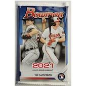 2021 Bowman Baseball Jumbo Value Pack (12 Cards)