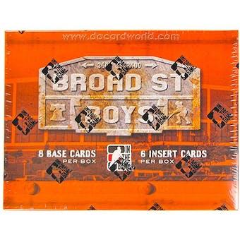2011/12 In The Game Broad Street Boys Hockey Hobby Box
