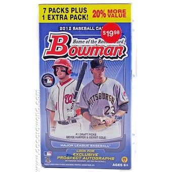 2012 Bowman Baseball 8-Pack Box