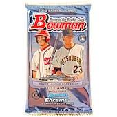 2012 Bowman Baseball Hobby Pack