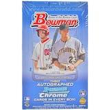 2012 Bowman Baseball Jumbo Box