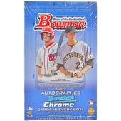 2012 Bowman Baseball Jumbo Box
