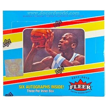 2011/12 Upper Deck Fleer Retro Basketball Hobby Box