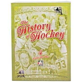 2012/13 In The Game History of Hockey Hobby Box