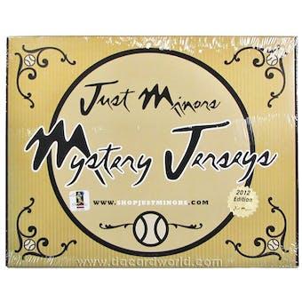 2012 Just Minors Mystery Jersey Baseball Hobby Box
