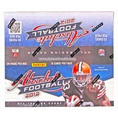 2012 Panini Absolute Football Retail 24-Pack Box - LUCK & WILSON ROOKIES!