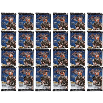 2012 Panini Absolute Football Retail Pack (Lot of 24)